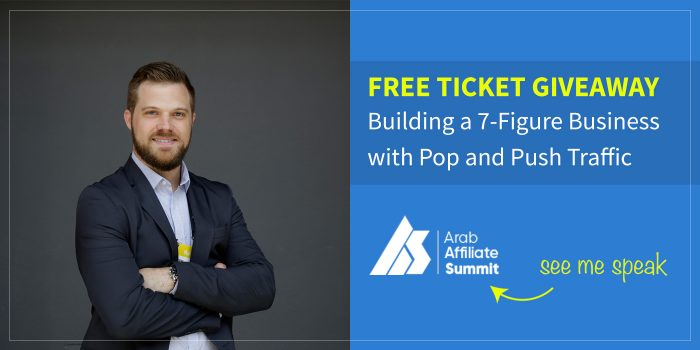 FREE GIVEAWAY : Meet Me at Arab Affiliate Summit 2018